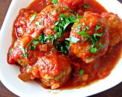 Рецепт тефтели в томатном соусе с фото