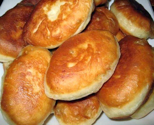 Рецепт теста для пирожков жареных на кефире
