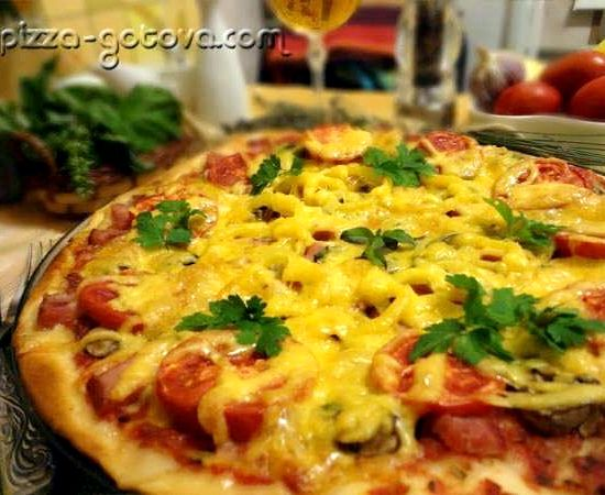 Рецепт теста для тонкой итальянской пиццы