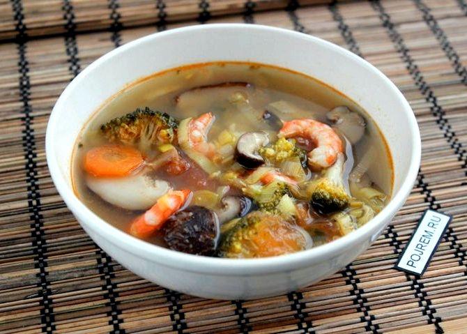 Рецепт том ям с креветками и кокосовым молоком рецепт