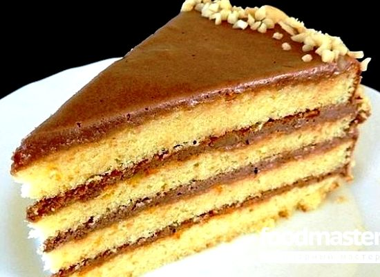 Рецепт торт с варёной сгущёнкой рецепт