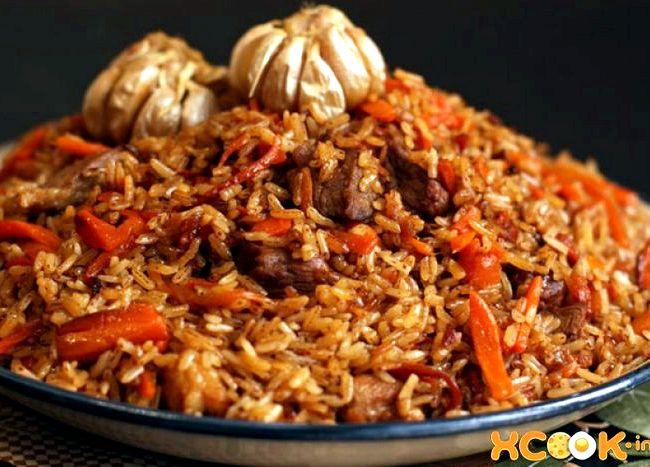 Рецепт узбекского плова в казане с бараниной