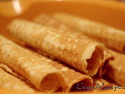 Рецепт вафельные трубочки для вафельницы