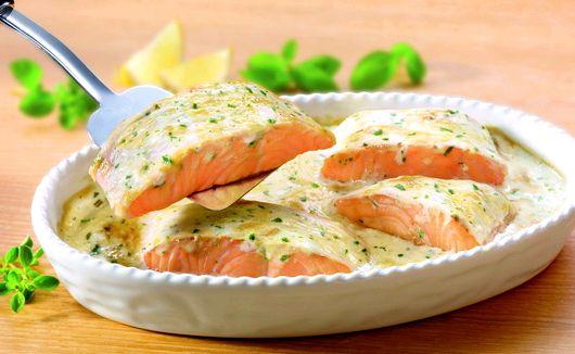 Рыба в сливочном соусе в духовке рецепт с фото