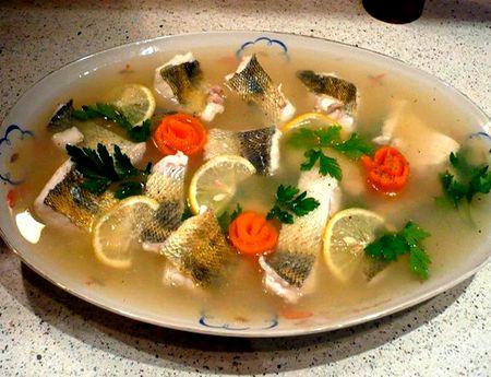 Рыба заливная рецепт приготовления с фото