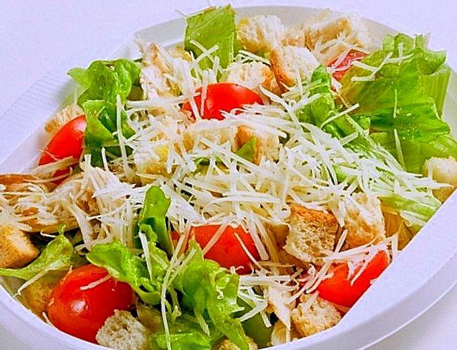 Салат цезарь с курицей с майонезом в домашних условиях рецепт с фото