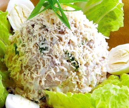 Салат из печени трески рецепт с фото