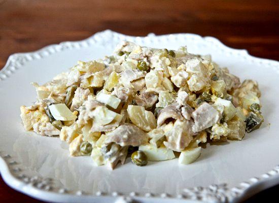 Салат оливье классический рецепт с курицей