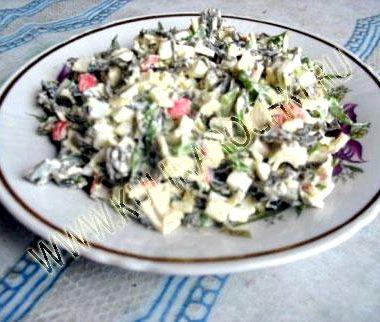 Салат с морской капусты рецепт с фото
