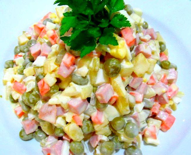 Салат зимний рецепт с фото очень вкусный