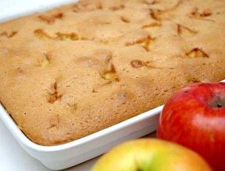 Шарлотка с яблоками классическая в духовке рецепт