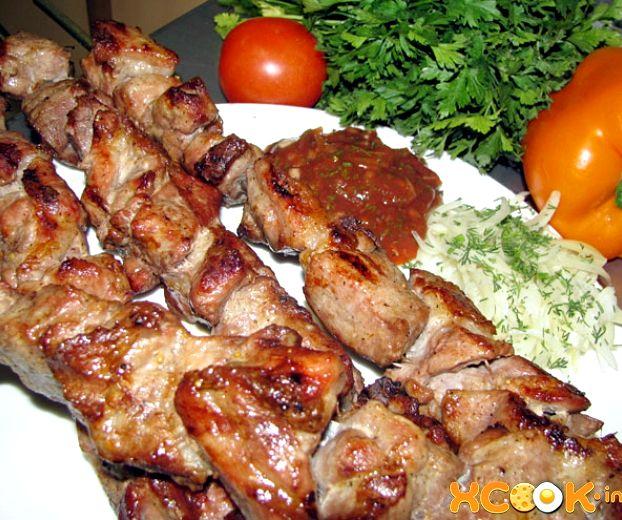 Шашлык из свинины в кефире рецепт с фото