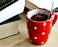 Шоколадный кекс в кружке за 5 минут в микроволновке рецепт