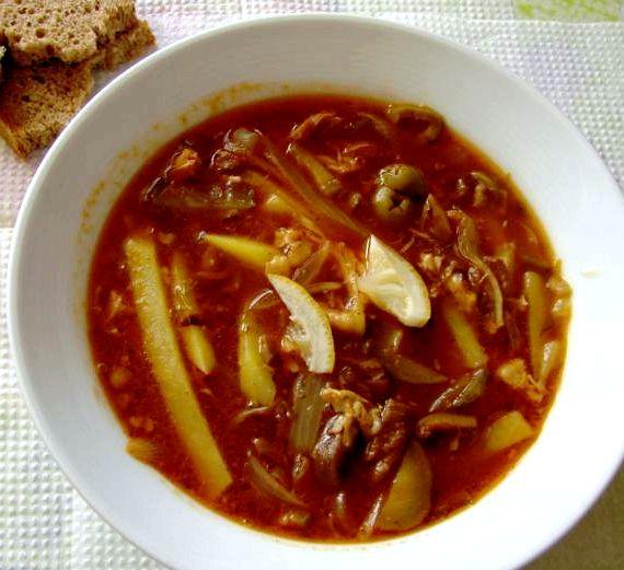 Солянка классическая с картошкой рецепт
