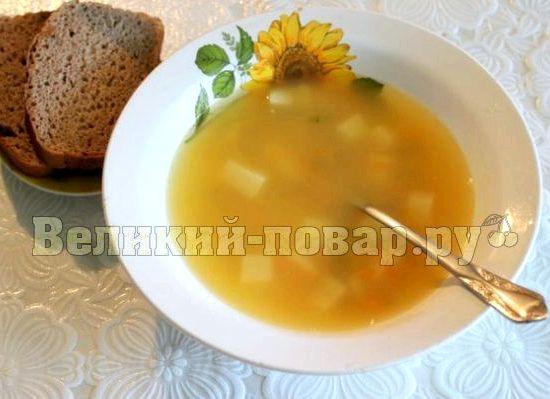 Суп гороховый с свининой пошаговый рецепт с фото