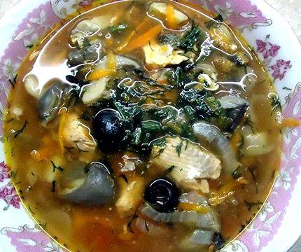 Суп рыбный из консервов горбуши рецепт с фото