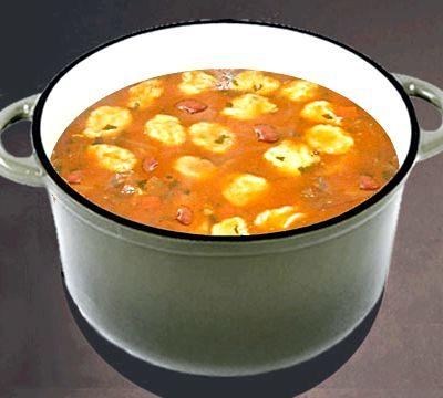 Суп с консервированной фасолью рецепт с фото