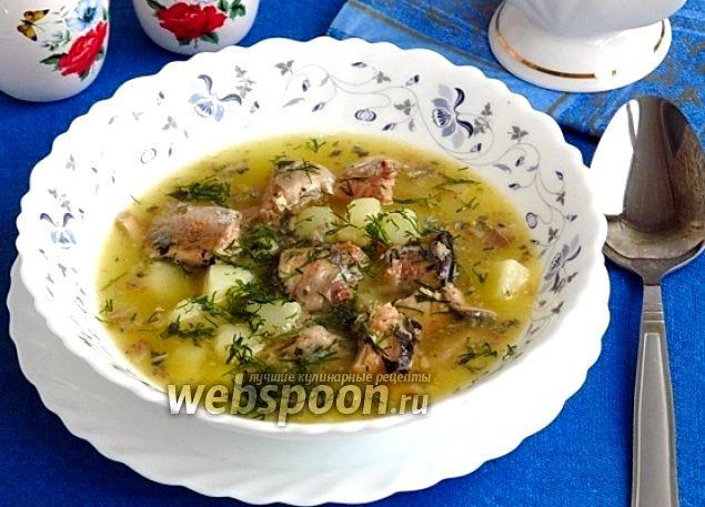 Суп с консервированной сайрой рецепт с фото