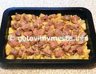 Свинина в духовке рецепт с картошкой