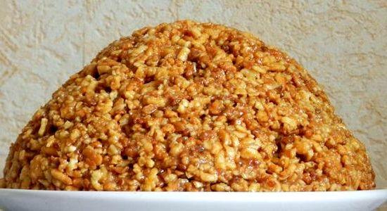 Торт муравейник рецепт из печенья с фото