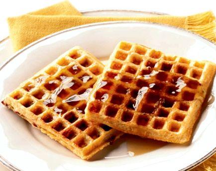 Вафли в вафельнице мягкие рецепт с фото
