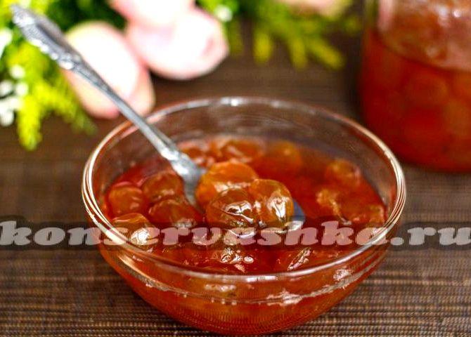 Варенье из крыжовника по царски рецепт с грецкими орехами