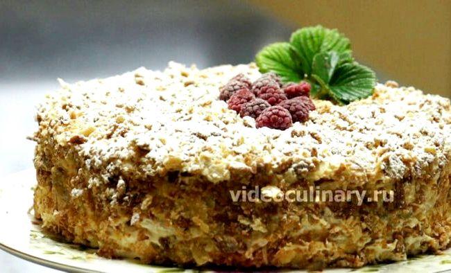 Видео рецепт торт наполеон от бабушки эммы