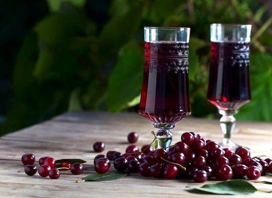 Вино из вишни с косточкой в домашних условиях простой рецепт