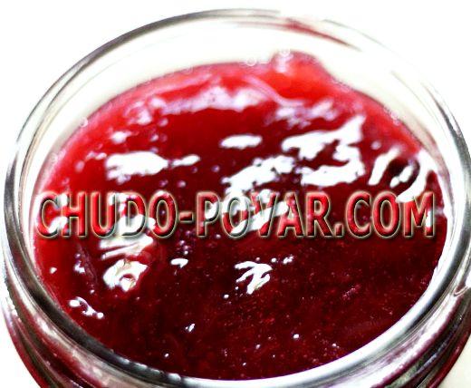 Вишнёвое варенье рецепт с желатином