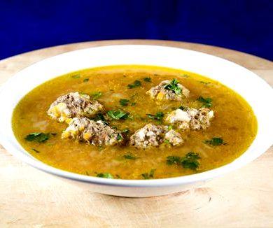 Вкусный суп с фрикадельками пошаговый рецепт с фото