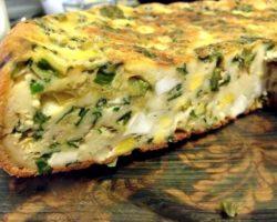 Заливной пирог с луком и яйцом в мультиварке рецепт с фото