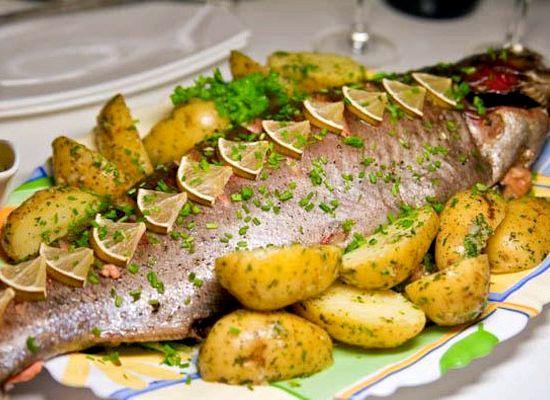 Запеченная рыба в фольге в духовке рецепт с фото