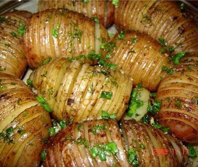 Запеченный в духовке картофель рецепт