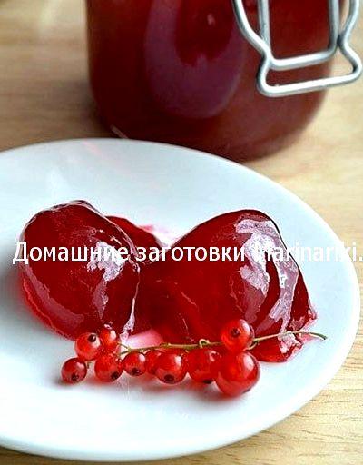 Желе из красной смородины рецепт на зиму с желатином